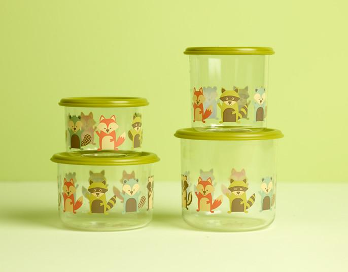 What Did the Fox Eat?®  Good Lunch® Snack Containers Set-of-Two - YYZ Distribution