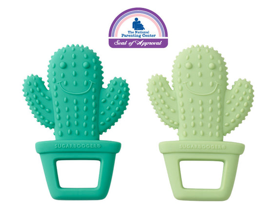 Happy Cactus™ Silicone Teether Set-of-Two