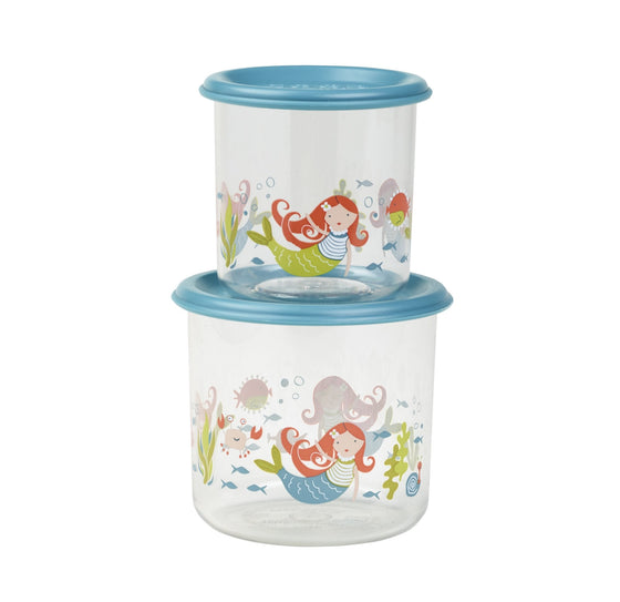 Isla The Mermaid Good Lunch® Snack Containers Set-of-Two - YYZ Distribution