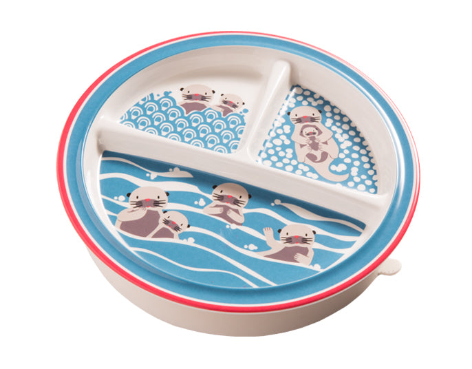 Baby Otter Divided Suction Plate