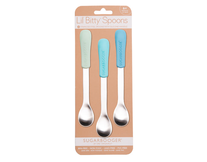 Baby Blue Lil' Bitty™ Spoons - YYZ Distribution