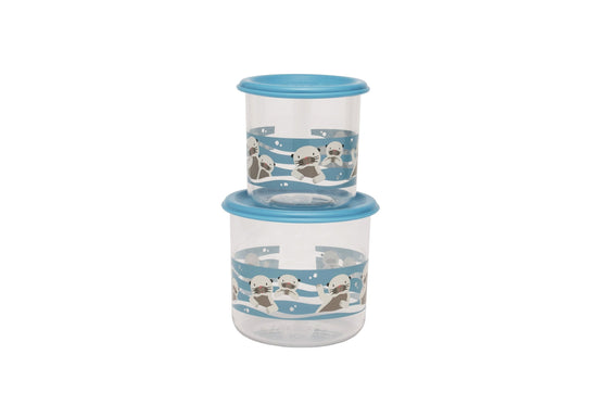 Baby Otter Good Lunch® Snack Containers Set-of-Two - YYZ Distribution