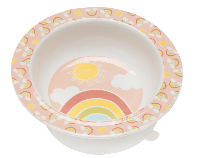 Rainbows & Sunshine Suction Bowl