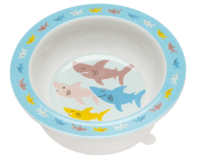 Smiley Shark Suction Bowl