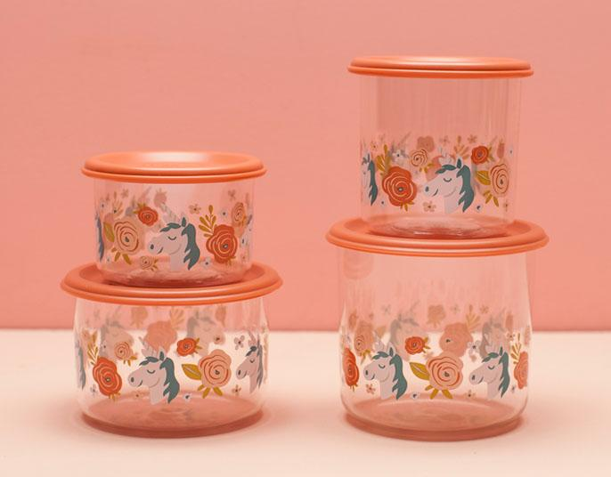 Unicorn Good Lunch® Snack Containers Set-of-Two