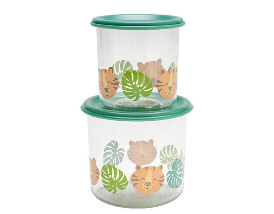 Tiger Good Lunch® Snack Containers Set-of-Two