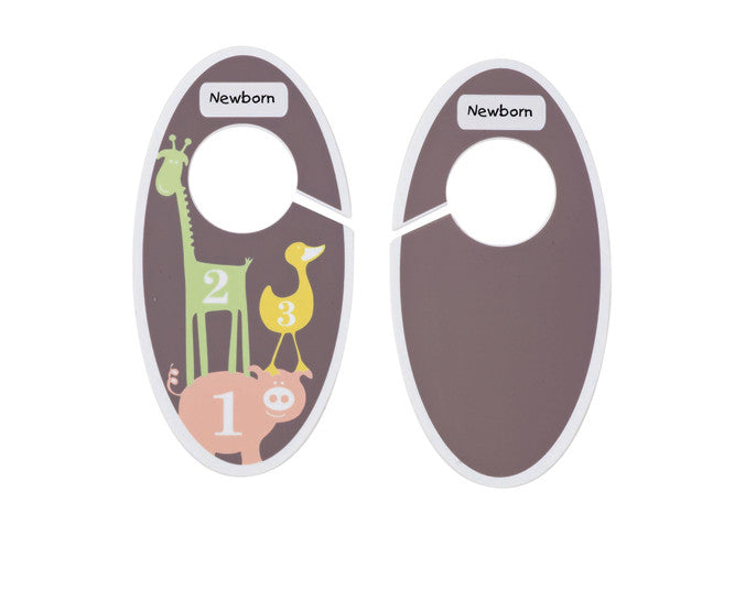 Children's Closet Rod Dividers Numbers Dots