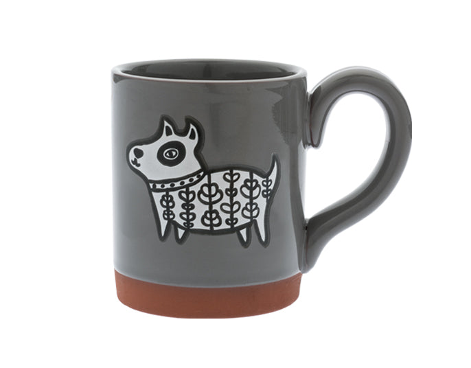 Cuppa Color™ Mug Henna Dog in Grey - YYZ Distribution