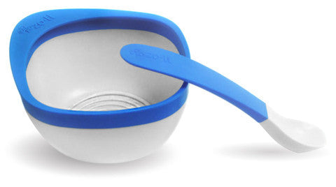 MASH Bowl & Spoon Kit - Blue