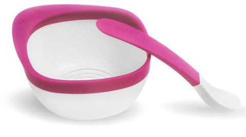 MASH Bowl & Spoon Kit - Pink