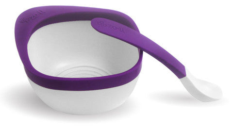 MASH Bowl & Spoon Kit - Purple