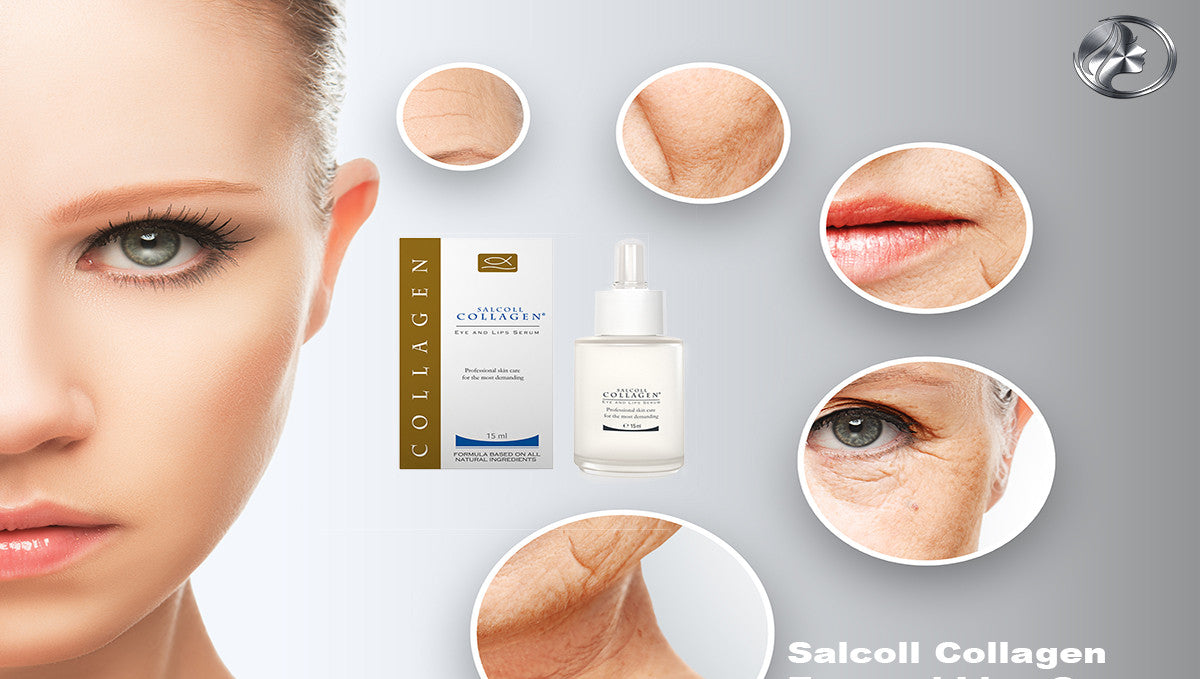 Salcoll Collagen Eye And Lips Serum: The Proven Skin Tightening Serum