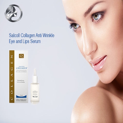 Salcoll Collagen Eye And Lips Serum