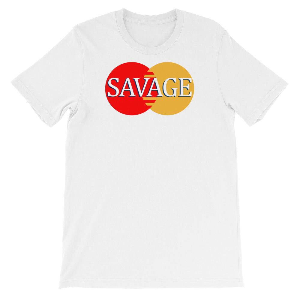 Funny master Savage Card Cool Short-Sleeve Unisex Tee T-Shirt - Awkward Television