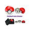 2016 Hot Sale 1Pcs 5.5*5.2cm Cute Game Pokemon and Pokeball Pikachu Tobacco Grinder Zinc Weed Herb Grinder with Box Gift - Awkward Television