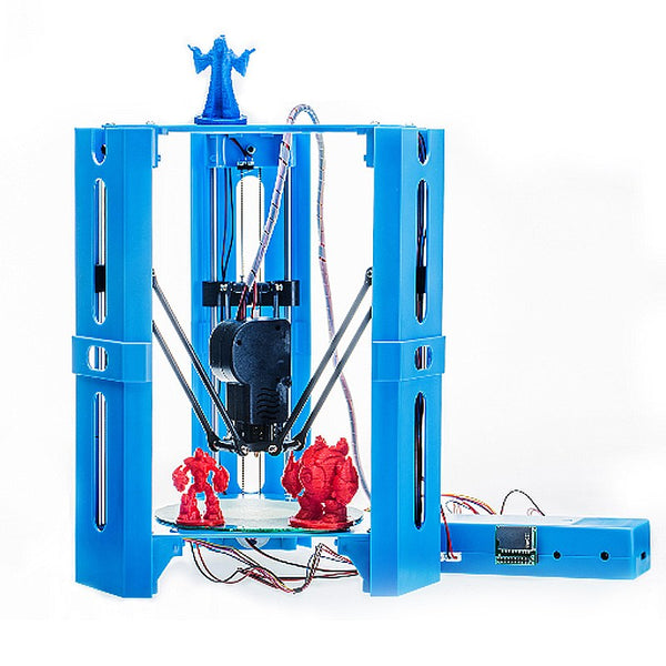 Newest Mini DIY Assembled Yourself Desktop 3D Printer 100*100mm Printing Size Support Off-line 1.75mm 0.4mm Nozzle