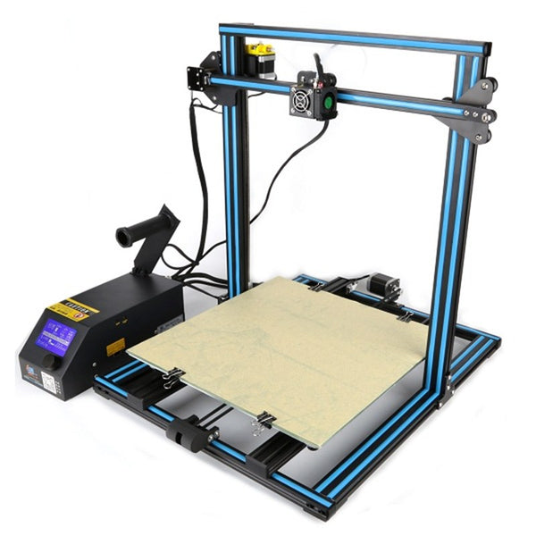 Wholesale Price CR-10 Customized 400*400*400mm Printing Size DIY 3D Printer Kit 1.75mm 0.4mm Nozzle With 2x 1KG PLA Filament