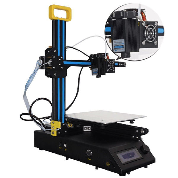 Creality 3D CR-8 2 in 1 DIY 3D Printer laser engraver Kit 210 x 210 x 210mm Print size 1.75mm 0.4mm Nozzle