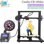 CREALITY 3D Official Store 3D Printer CR-10 Mini Big Print Size 300*220*300mm Support Resume after power off 3D Printer DIY Kit