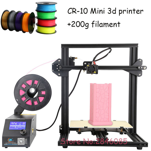 CREALITY 3D Official Store 3D Printer CR-10 Mini Big Print Size 300*220*300mm Support Resume after power off 3D Printer DIY Kit - Awkward Television