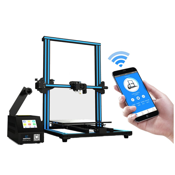 Hot Sale A30 DIY 3D Printer With Large Printer Area Colorful Touch Screen Break-resuming Auto-leveling WiFi Enabled 3D Printer