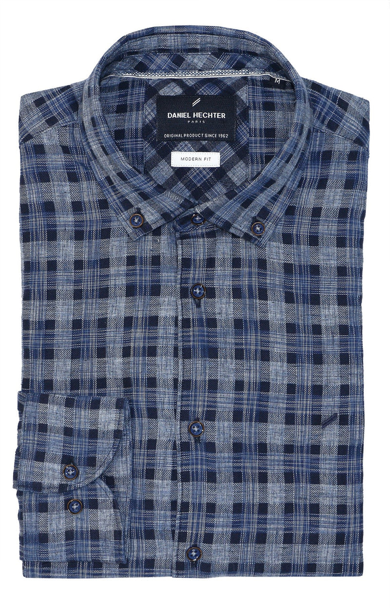 Tartan Check Modern Fit Shirt