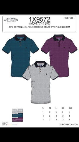 Le Shark Hester Purple Polo Top