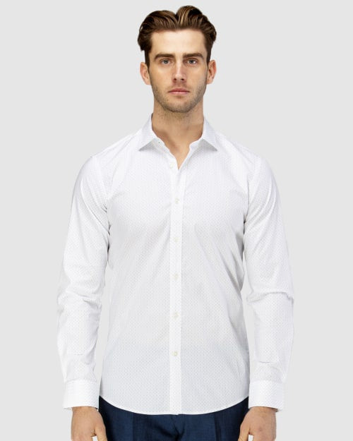 Abstract Dot Business Shirt
