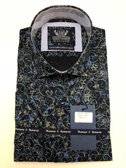 Scott Navy Shirt