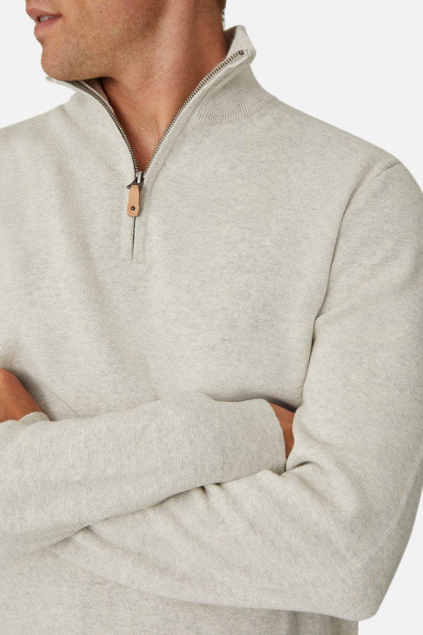 Industrie the lakewood zip neck knit