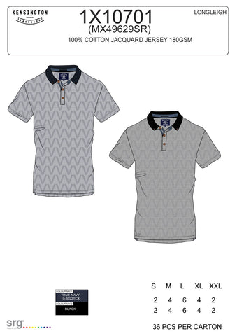 Le Shark Longleigh Navy Polo Tops