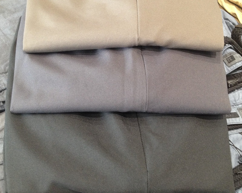 YARRA BANK POLYESTER PLAIN FRONT