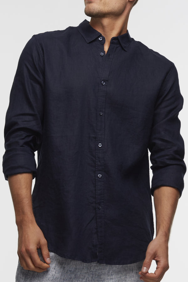 Industrie The Tennyson Linen L/S Shirt
