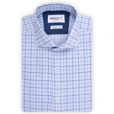 Brooksfield Career Windowpane Check SO 1503
