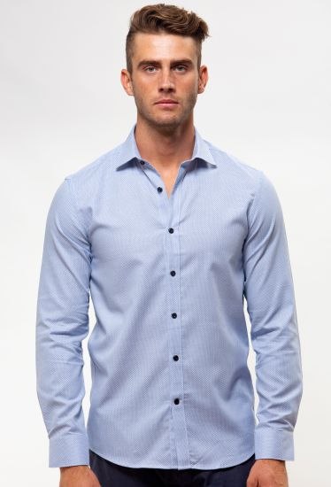 Luxe Textured Business Shirt 1540