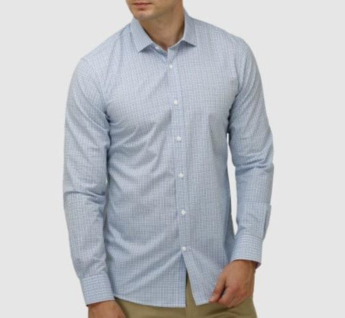 Houndstooth Check Career Shirt