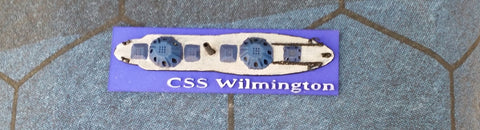 CSS Wilmington (Price for PAINTED Model - Unpainted Available on Shapeways)