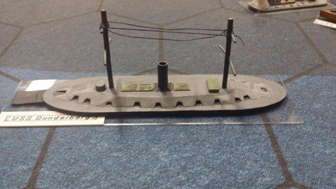 USS Dunderberg (Price for PAINTED Model - Unpainted Available on Shapeways)