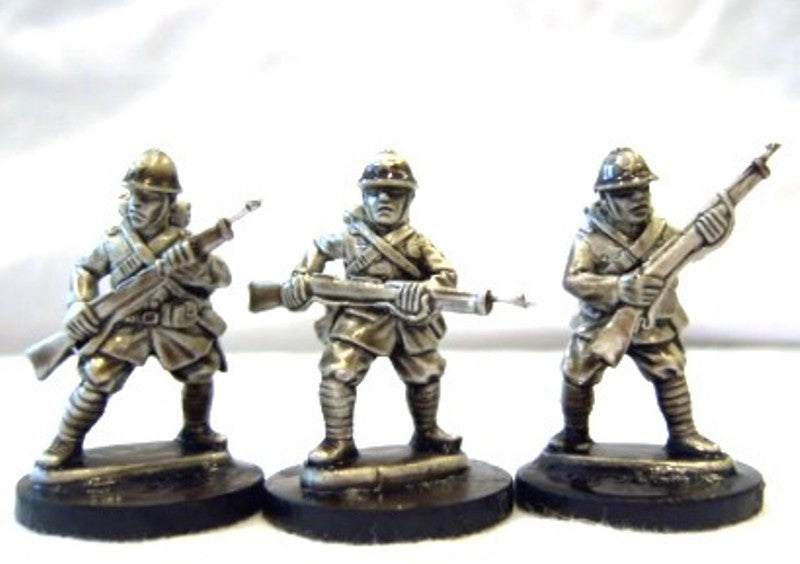 Japanese Infantry in M1930 Uniforms