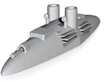 CSS Manassas (Price for PAINTED Model - Unpainted Available on Shapeways)