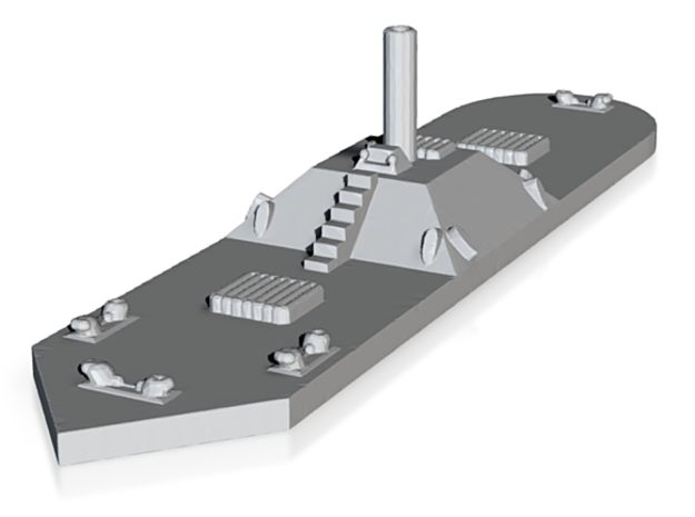 CSS Milledgeville (Price for PAINTED Model - Unpainted Available on Shapeways