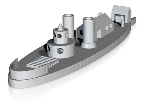 USS Ozark (Price for PAINTED Model - Unpainted Available on Shapeways)
