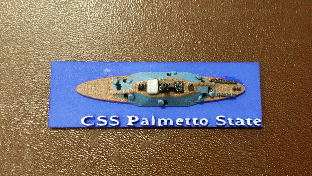 CSS Palmetto State (Price for PAINTED Model - Unpainted Available on Shapeways)