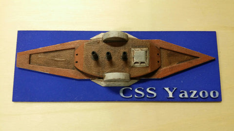 CSS Yazoo (Price for PAINTED Model - Unpainted Available on Shapeways)
