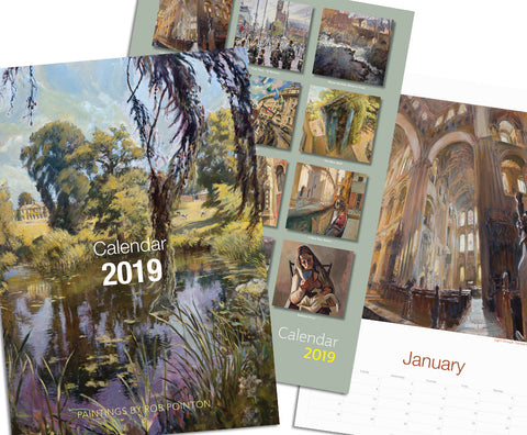 Rob Pointon Calendar 2019