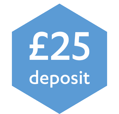 Fully Refundable £25 Appointment Deposit