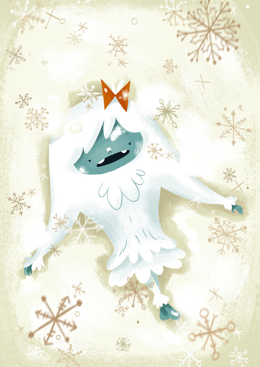 """Norma"" from The Abominable Norman - A3 Giclée Print"