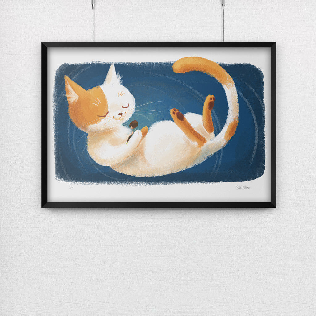 Pixie Le Chat - A3 Giclée Print + Story Bundle