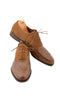 Handmade Brown Beige Suede Men Shoes