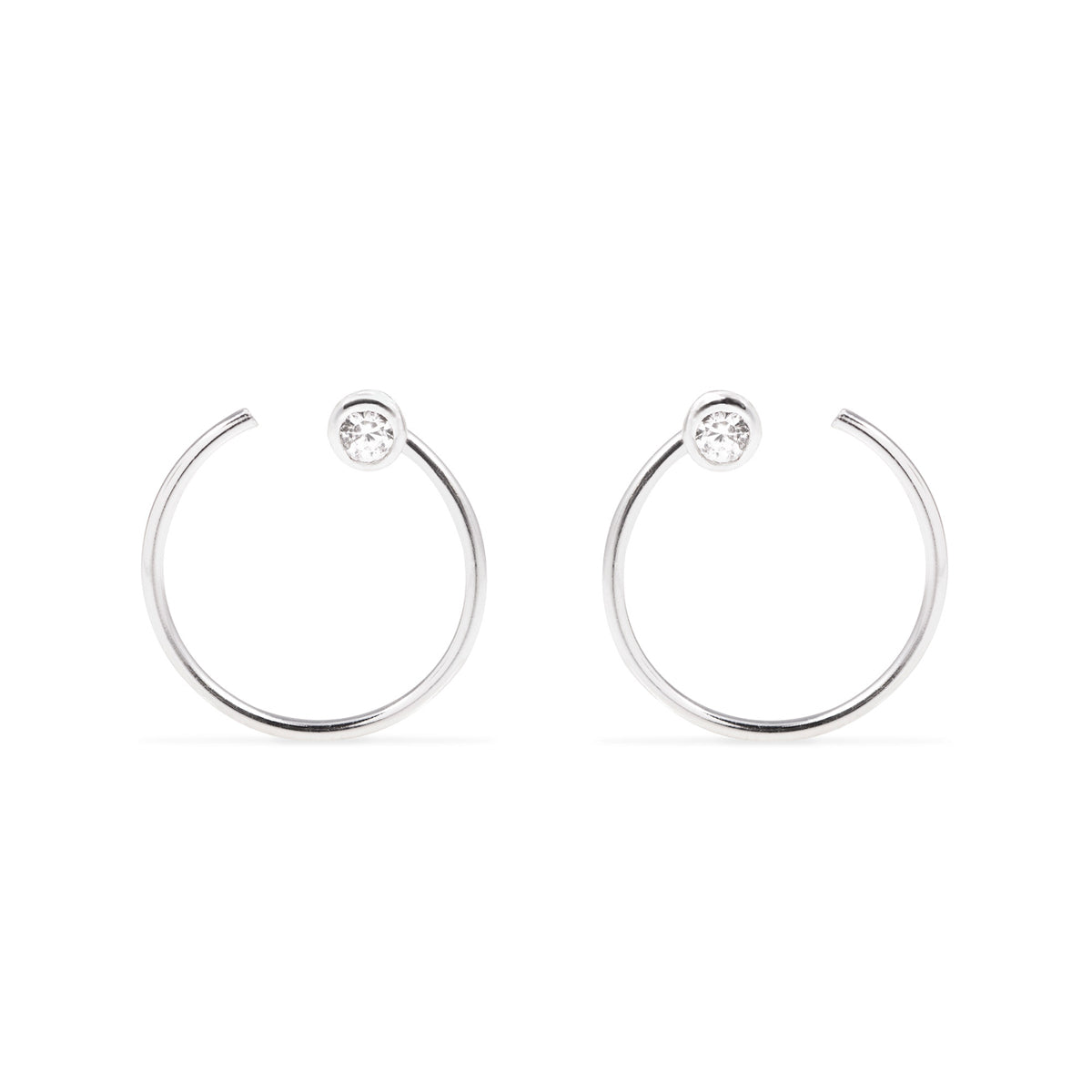 Pendientes Diamond Circle